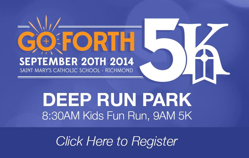 Go Forth 5K Logo